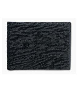 Yoder Leather Company Black Shark Regular ID Window Bifold Wallet